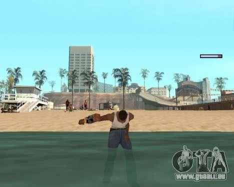 Pour airborne! pour GTA San Andreas cinquième écran
