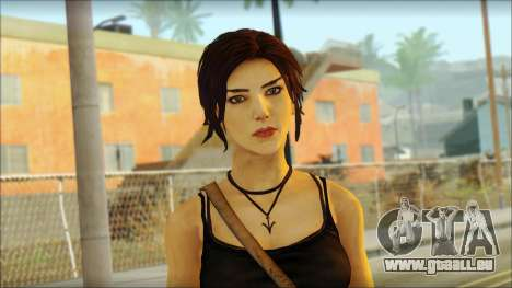 Tomb Raider Skin 4 2013 pour GTA San Andreas troisième écran