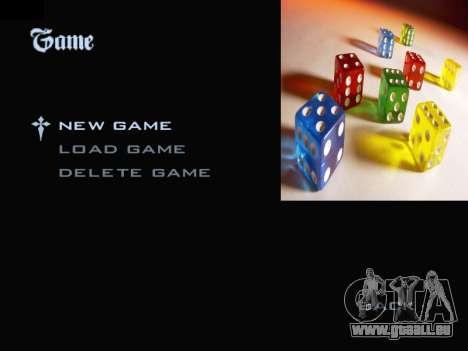 Menu Gambling für GTA San Andreas zweiten Screenshot