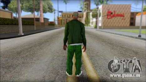 New CJ v1 pour GTA San Andreas deuxième écran