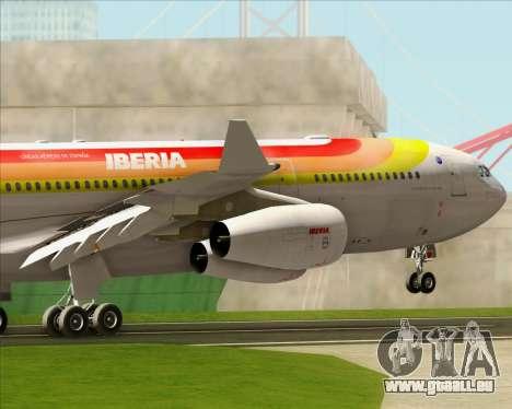 Airbus A340 -313 Iberia pour GTA San Andreas moteur