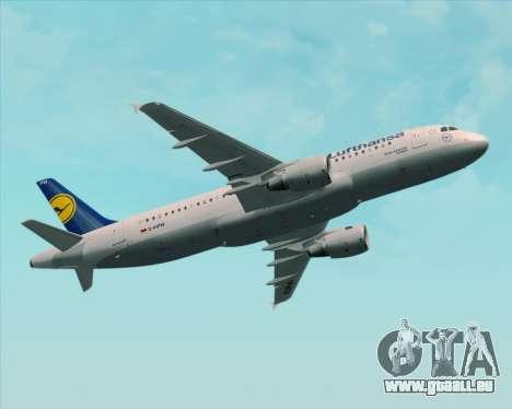 Airbus A320-211 Lufthansa für GTA San Andreas Räder