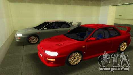 Subaru Impreza WRX STI GC8 22B pour GTA Vice City