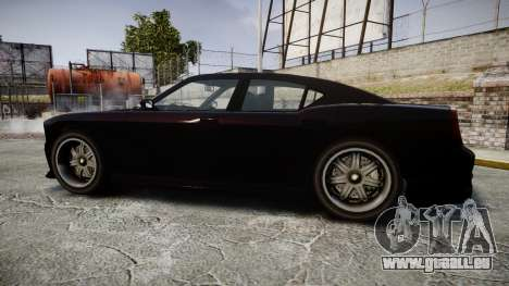 Bravado Buffalo FIB Modified für GTA 4 linke Ansicht