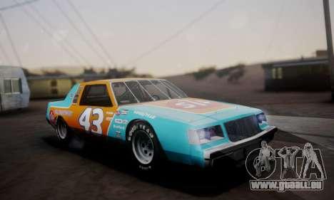 Buick Regal 1983 pour GTA San Andreas vue de côté