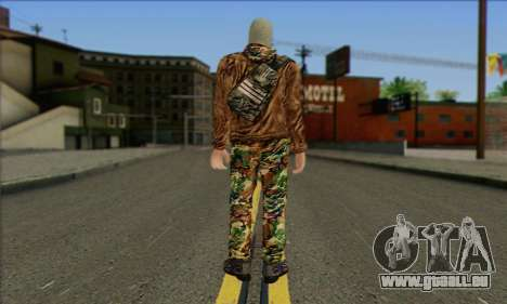 Arctic Avenger (Tactical Intervention) v3 pour GTA San Andreas deuxième écran