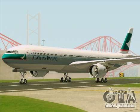 Airbus A330-300 Cathay Pacific für GTA San Andreas linke Ansicht