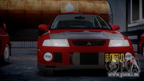 Mitsubishi Lancer Evolution VI Rally pour GTA 4