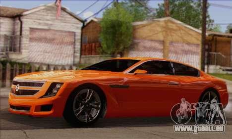 Alpha - DLC Business GTA V für GTA San Andreas rechten Ansicht