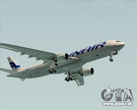 Airbus A330-300 Finnair (Current Livery) für GTA San Andreas obere Ansicht