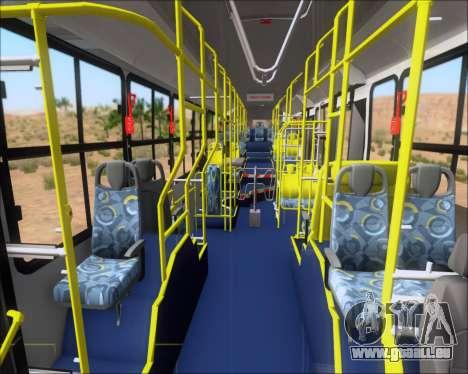 Caio Induscar Millennium BRT Viacao Gato Preto pour GTA San Andreas vue de dessous