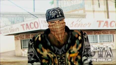 Manhunt Ped 21 pour GTA San Andreas troisième écran