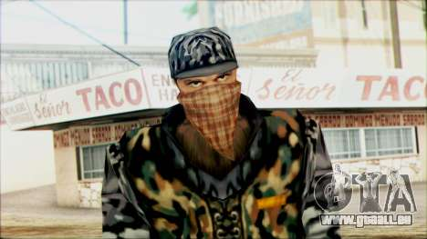 Manhunt Ped 21 für GTA San Andreas dritten Screenshot