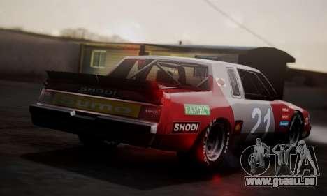 Buick Regal 1983 für GTA San Andreas rechten Ansicht