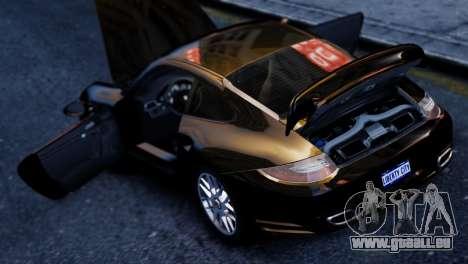 Porsche 911 Turbo pour GTA 4 Vue arrière