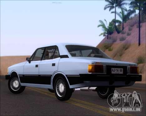 Chevrolet Opala Diplomata 1987 pour GTA San Andreas sur la vue arrière gauche