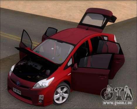 Toyota Prius für GTA San Andreas Rückansicht
