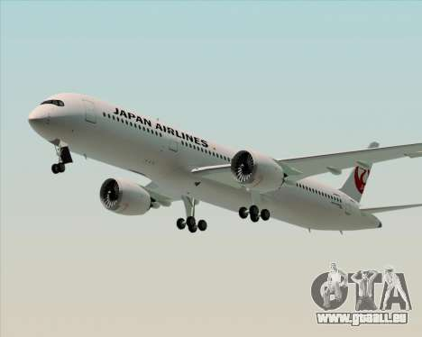 Airbus A350-941 Japan Airlines für GTA San Andreas Seitenansicht