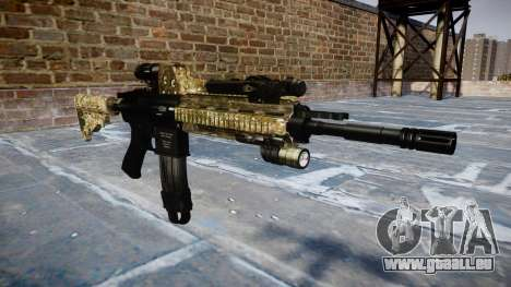 Automatic rifle Colt M4A1 devgru pour GTA 4
