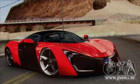 Marussia B2 für GTA San Andreas