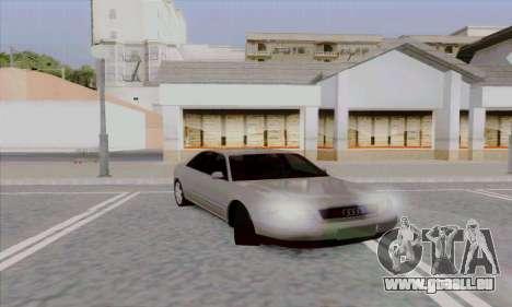 Audi A8 für GTA San Andreas rechten Ansicht
