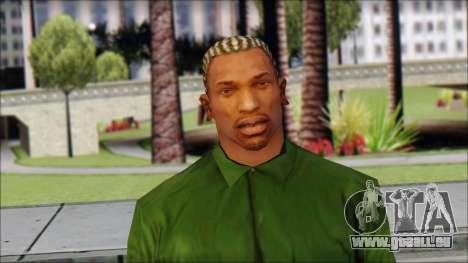 New CJ v1 pour GTA San Andreas troisième écran