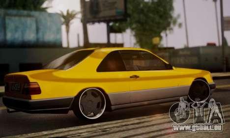 Mercedes-Benz C124 pour GTA San Andreas laissé vue