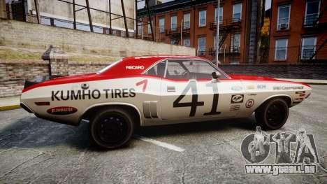 Dodge Challenger 1971 v2.2 PJ7 pour GTA 4 est une gauche