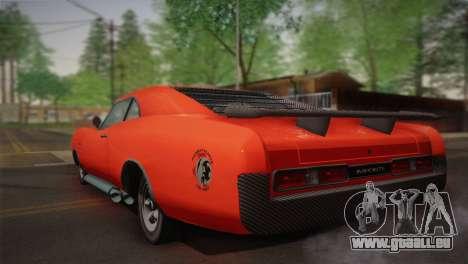 GTA 4 Dukes Tunable für GTA San Andreas rechten Ansicht