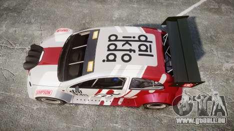 Zenden Cup Dalilfodda für GTA 4 rechte Ansicht