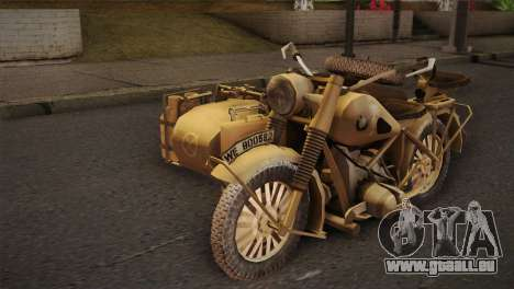 BMW R75 Desert from Forgotten Hope 2 pour GTA San Andreas