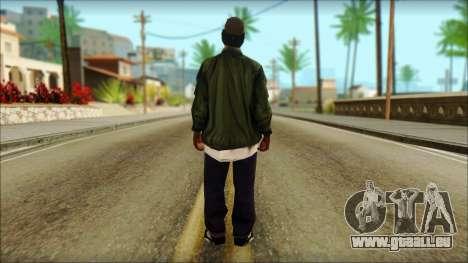 Eazy-E Green v2 pour GTA San Andreas deuxième écran