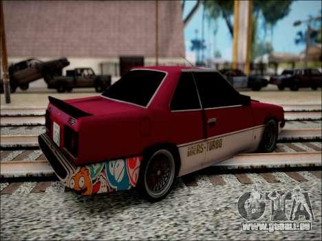 Nissan Skyline GT-R R30 für GTA San Andreas linke Ansicht