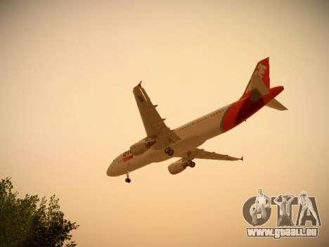 Airbus A320-214 TAM Oneworld für GTA San Andreas Innen