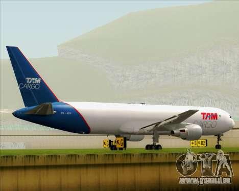 Boeing 767-300ER F TAM Cargo für GTA San Andreas rechten Ansicht
