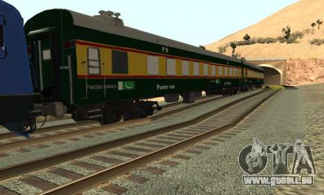 Pakistan Railways Train pour GTA San Andreas