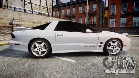 Pontiac Firebird Trans Am 2002 pour GTA 4 est une gauche