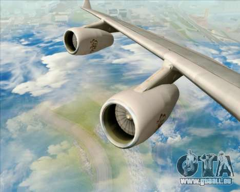 Airbus A340-313 Emirates für GTA San Andreas Motor