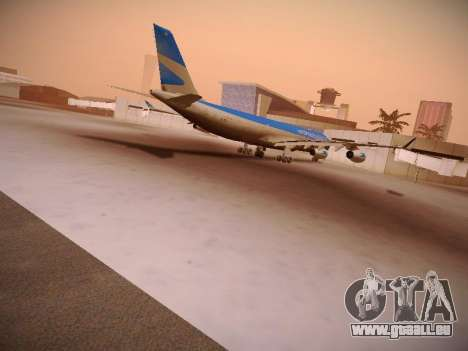 Airbus A340-300 D'Aerolineas Argentinas pour GTA San Andreas vue intérieure