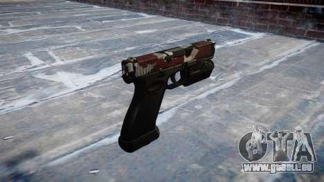 Pistole Glock 20 sind blutunterlaufen für GTA 4 Sekunden Bildschirm