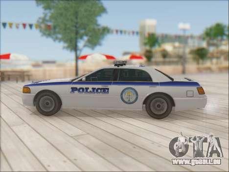 Admiral Police für GTA San Andreas Innen
