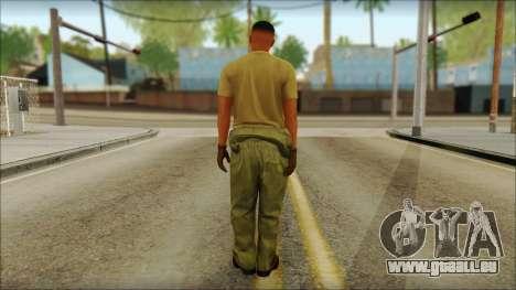 GTA 5 Soldier v2 für GTA San Andreas zweiten Screenshot