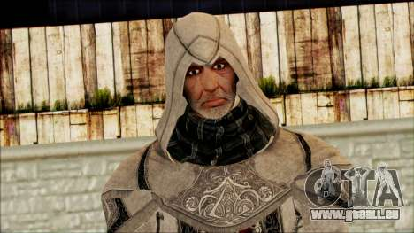 Old Altair from Assassins Creed pour GTA San Andreas troisième écran