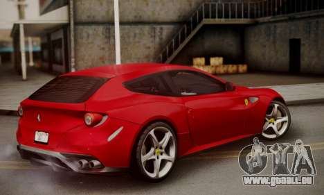 Ferrari FF 2012 pour GTA San Andreas laissé vue