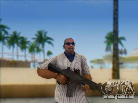Israélien carabine ACE 21 pour GTA San Andreas neuvième écran