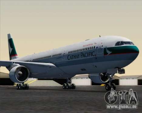 Airbus A330-300 Cathay Pacific für GTA San Andreas Innen