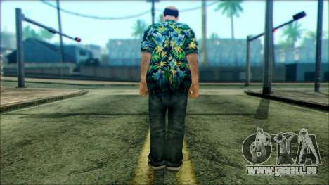 Manhunt Ped 6 für GTA San Andreas zweiten Screenshot