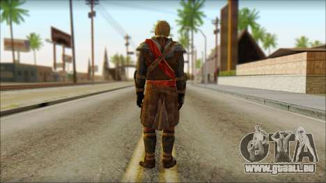 Edward Kenway Assassin Creed 4: Black Flag für GTA San Andreas zweiten Screenshot