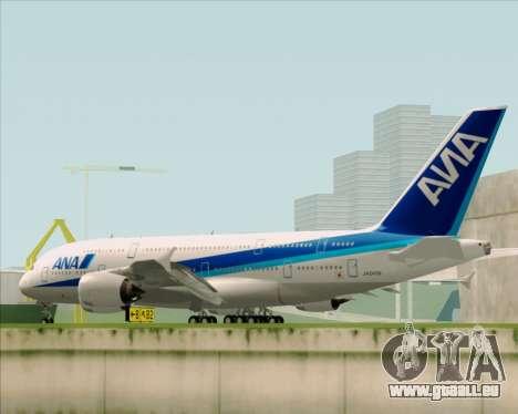 Airbus A380-800 All Nippon Airways (ANA) für GTA San Andreas Seitenansicht