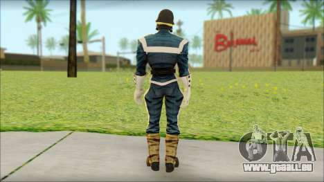 Guardians of the Galaxy Star Lord v1 für GTA San Andreas zweiten Screenshot